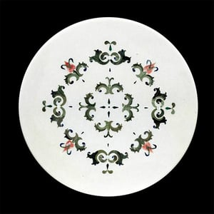 Inlay Technique On Marble Stone