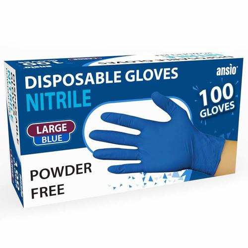 Disposable Powdered Free Nitrile Gloves