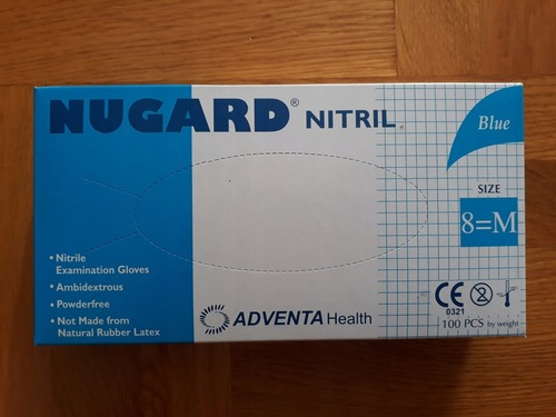 Nugard Nitrile Disposable Medical Hand Gloves