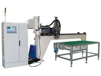 PU Gasket Seal Machine