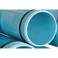 PVC Casing Ribbed Screen Filter Pipe