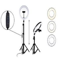 Selfie LED Ring Light with Phone Tripod Stand
