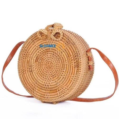 Light Weight Hot Trend Rattan Handbags