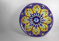 Designer Pottery Serving Plates