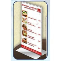 Free Standing Acrylic Tent Card