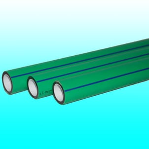 Green Round PPR Pipes
