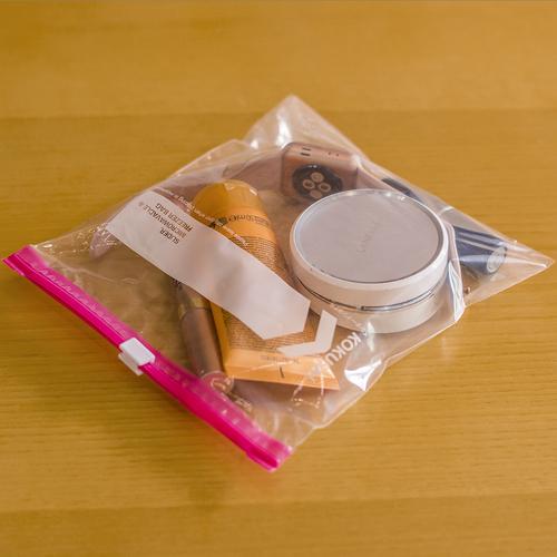 LLDPE Top Zip Plastic Bags