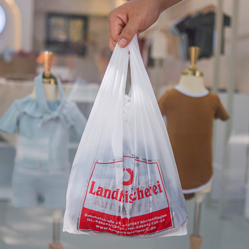 Printed LLDPE Shopping Bag