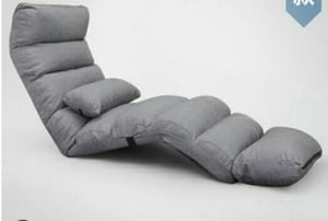 Grey Color Lazy Chair