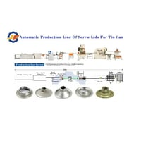 Automatic Production Line Of Screw Lids For Tin Can