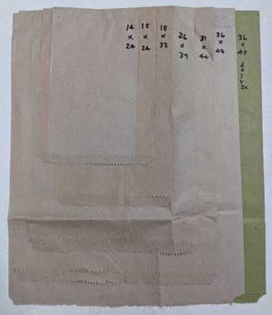 Paper Packing Cover For Textiles