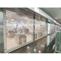 Manual Polycarbonate Rolling Shutter
