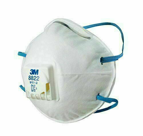 3M 8822 N95 Disposable Face Mask Mouth Nose Cover KN95