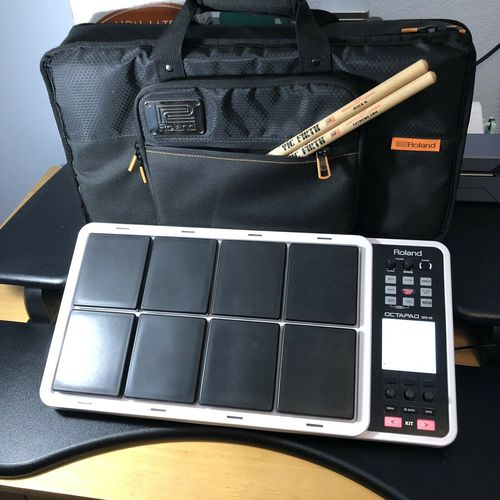 Roland Octapad SPD-30 Electronic Drum Pad with Roland Backpack Case