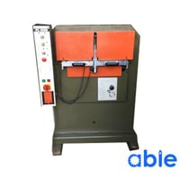 Used Atom PL1250 Leather Embossing Machine
