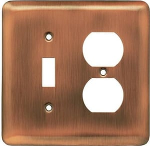 Highly Durable Brass Wall Plate