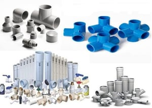 PVC Pipe Fittings and Pipes