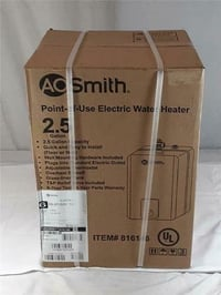 Brand New E6-2P15SV100 AO Smith Point-Of-Use Electric Water Heater