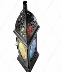 Metallic Powder Coated Decorative Lantern