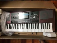 Original Korg PA 1000 Keyboard Unboxed with Accessories