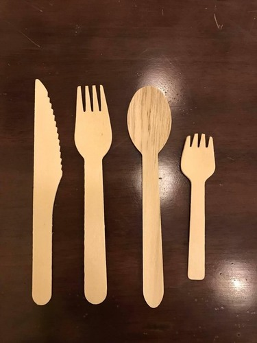Eco Friendly Disposable Cutlery Set