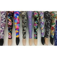 Ladies Polyester Printed Legging
