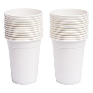 Light Weight White Biodegradable Cups