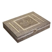 Wooden Oxidized Jewelry Ring Gift Box