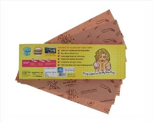 Ouch Free Wax Strips (Pack of 100)