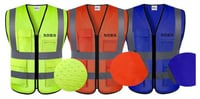 Washable Reflective Safety Vest