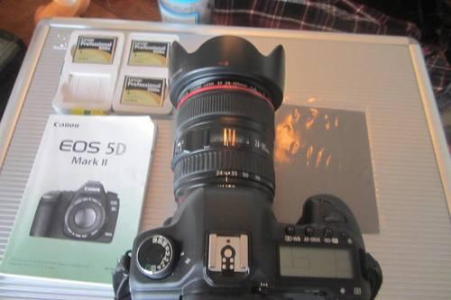 Canon Eos 5d Mark Il 30.4mp Digital Slr Camera - Black