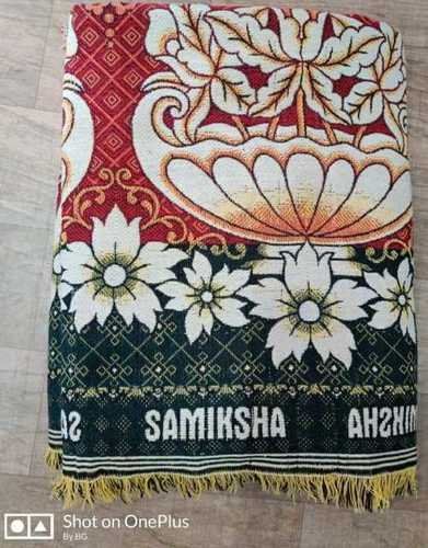 Many With Or Without White Base Printed Cotton Solapur Chaddar