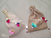 Designer Attractive Potli Bag for Jewellery Use