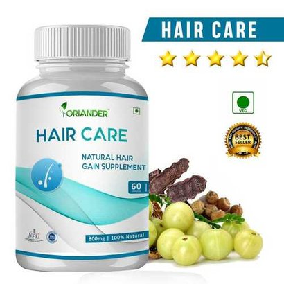 Hair Care Supplement Capsules Recommended For: 18+