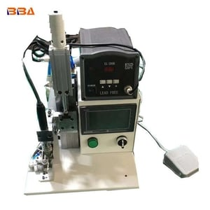 Auto Feeding Solder Wire Coaxial Cable Soldering Machine for Multiple Points Connector