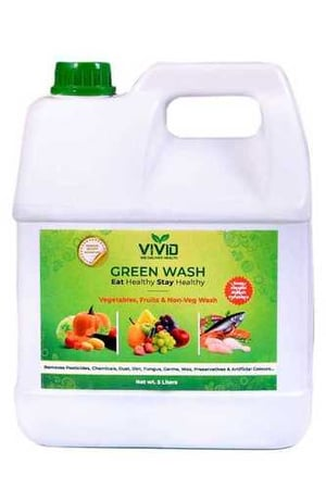 Green Vegetables, fruits and Non-veg Wash 5 L