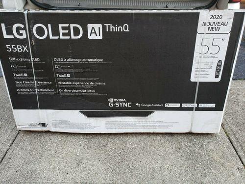 2020 Model Brand New 55 Inch 4k Ultra Hd Hdr Smart Oled Tv Oled55bxp (Lg)