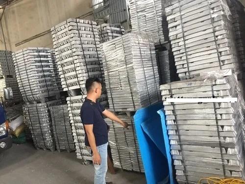 96% Aluminium UBC Ingot