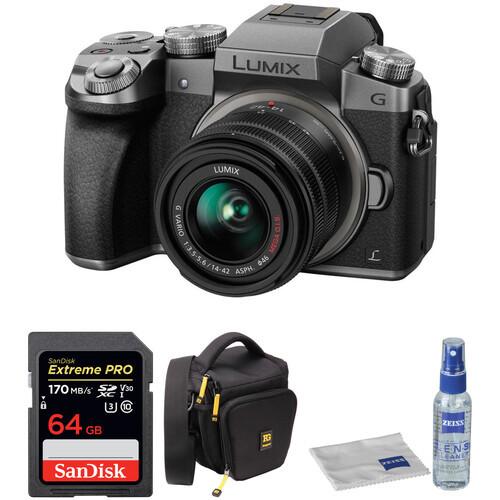Panasonic Lumix DMC-G7 Mirrorless Micro Four Thirds Digital Camera