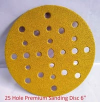 Carsystem Sanding Disc 6 Inch 25 Holes P80 to P600