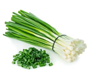 Healthy and Natural Fresh Green Onion