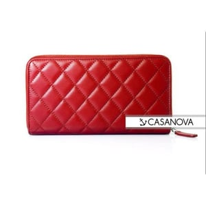 Ladies Red Leather Wallets
