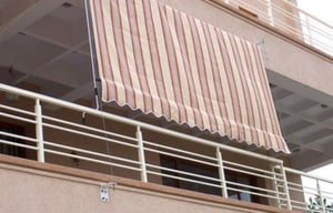 Simple Usage Vertical Awnings