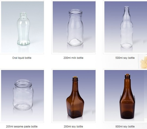 Fine Finishing Glass Bottle