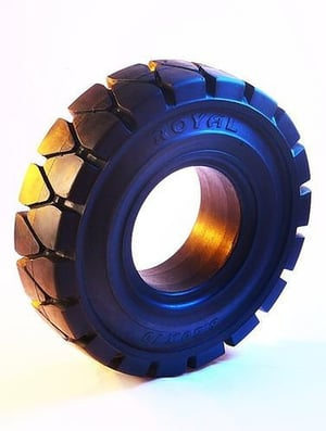 Solid Resilient Rubber Tyres