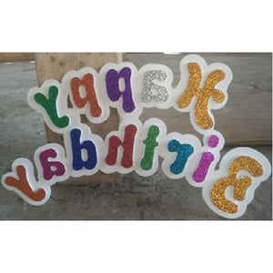 Thermocol Foam Hanging Birthday Letters