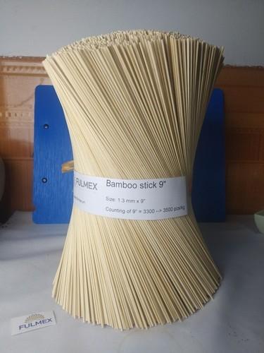 Natural Round Bamboo Stick