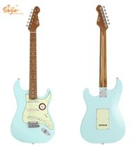 Two Pieces Alder Body Quartersawn Roasted Maple Neck ST Style Electric Guitar