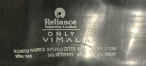 Reliance Polywool Blended Fabric