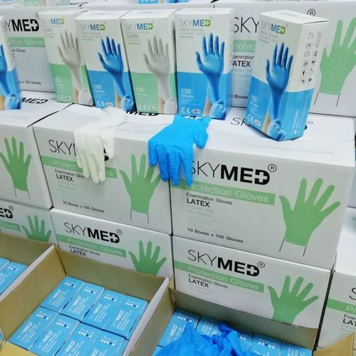 Disposable Latex Hand Gloves